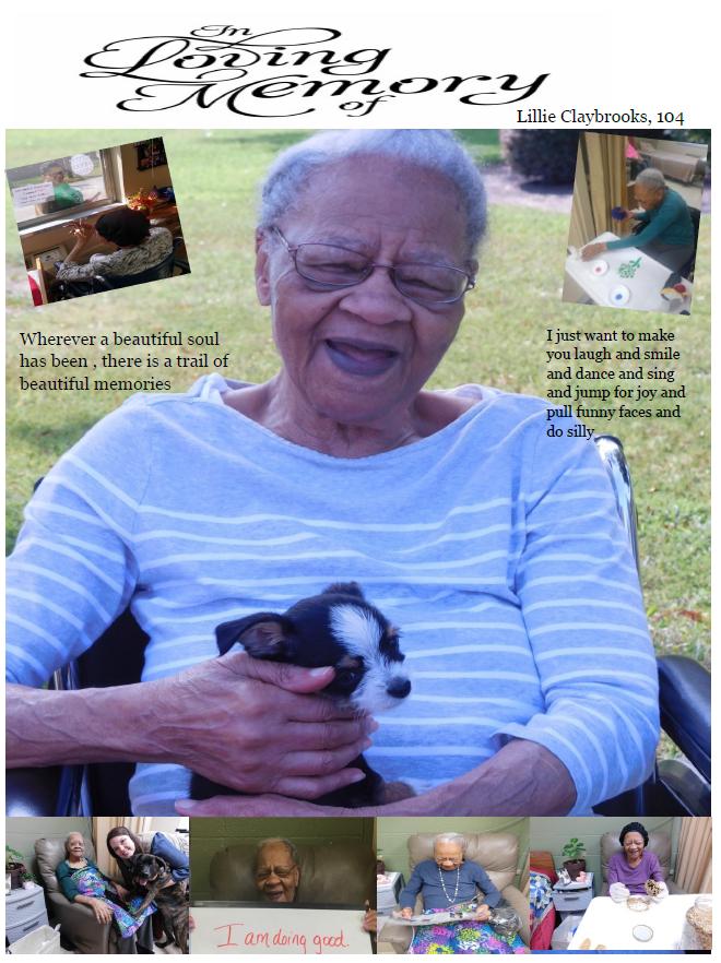 Alamo Nursing and Rehabilitation Center Newsletter